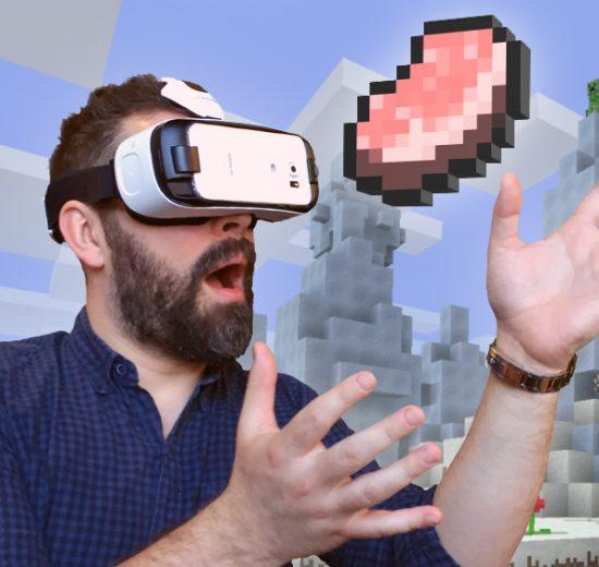 VR Minecraft Gear