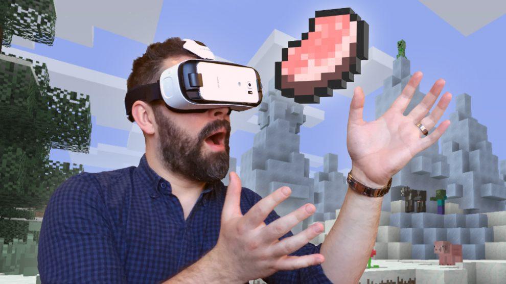 Minecraft VR Gear