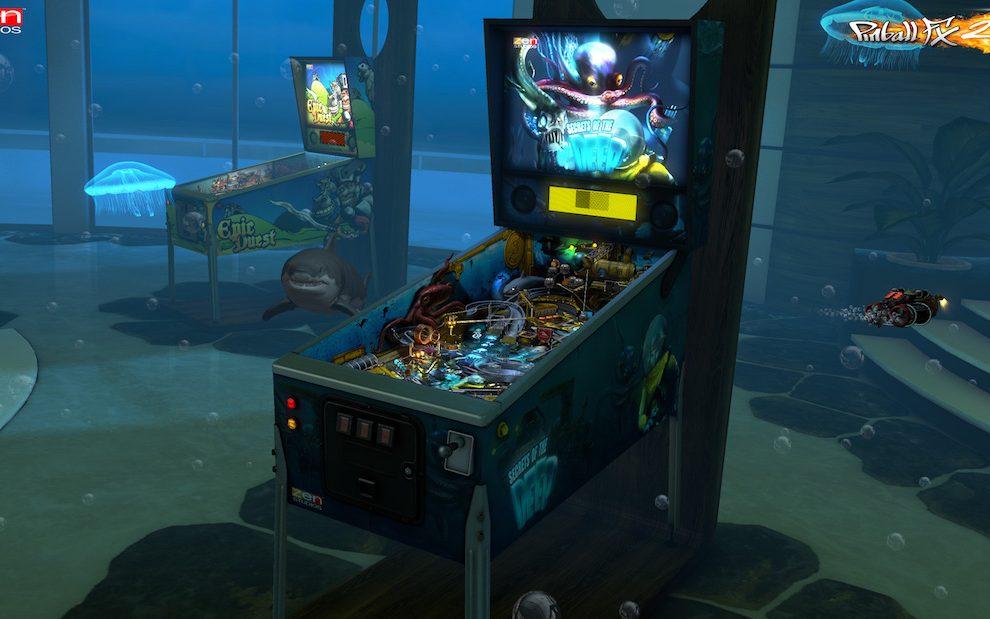 Pinball FX2 VR Oculus Rift