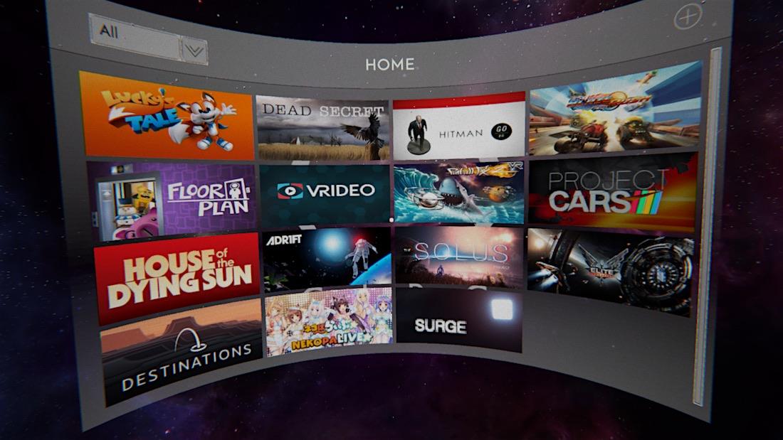 CircVR - lanzador de aplicaciones VR