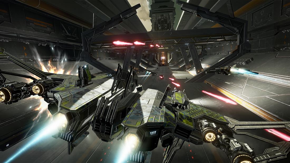 EVE Valkyrie Carrier Assault