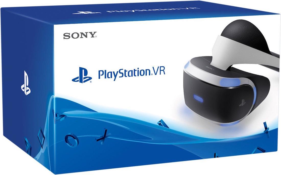 PSVR - PlayStation VR- caja
