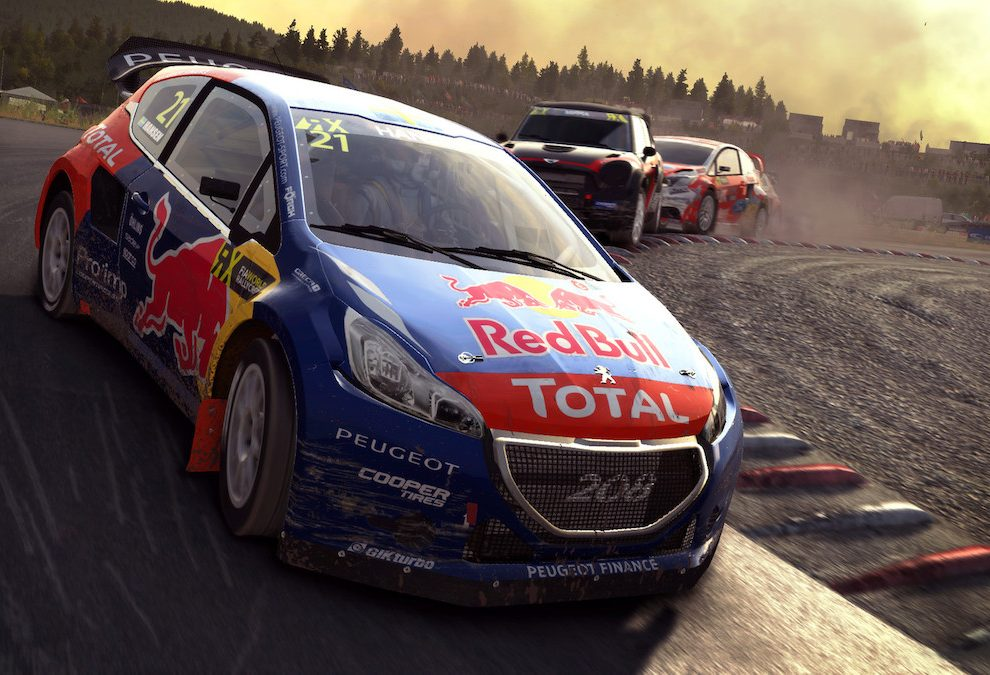 Dirt Rally Oculus