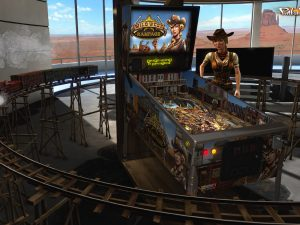 Wild West Rampage Pinball FX2 VR
