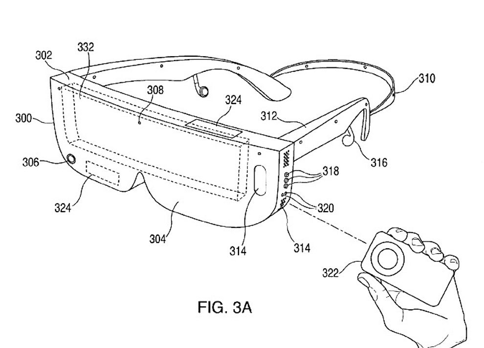 Visor de Realidad Virtual Apple