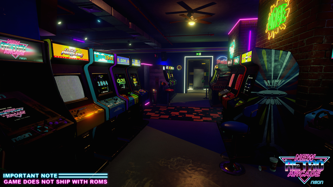 New Retro Arcade Neon
