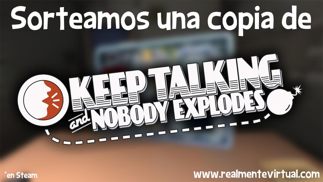 Sorteo Keep Talking and Nobody Explodes