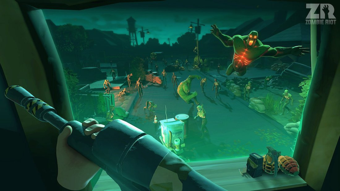 ZR: Zombie Riot VR