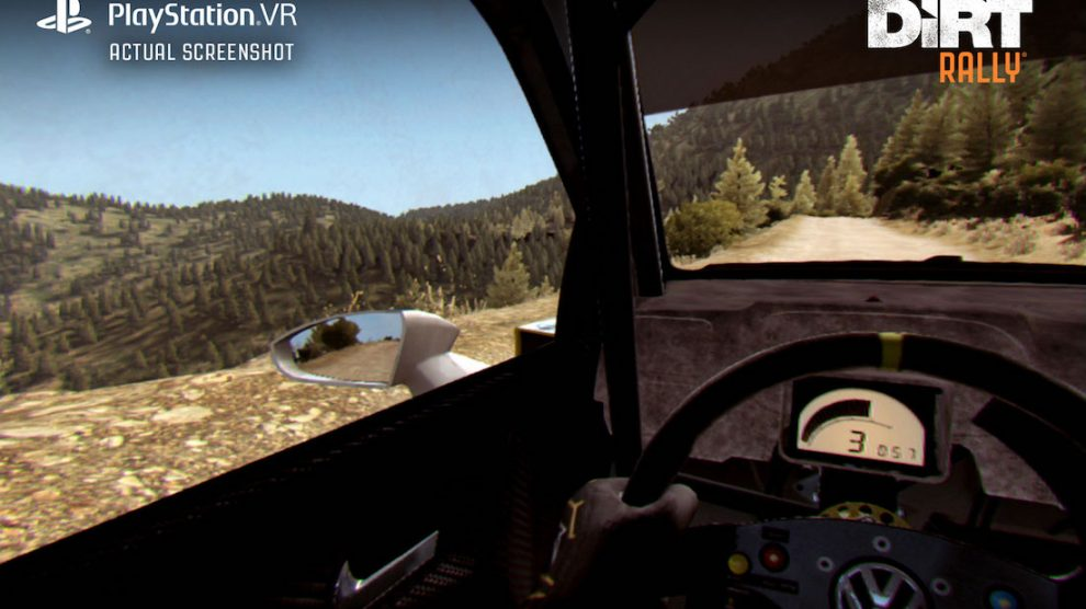 DiRT Rally PSVR