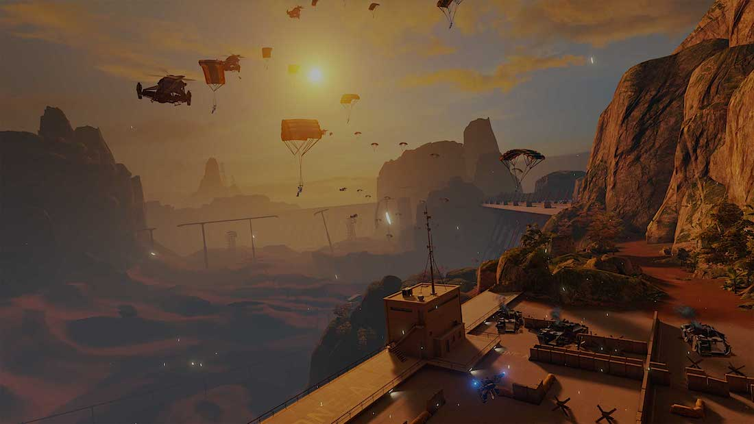 Landfall Oculus rift 2