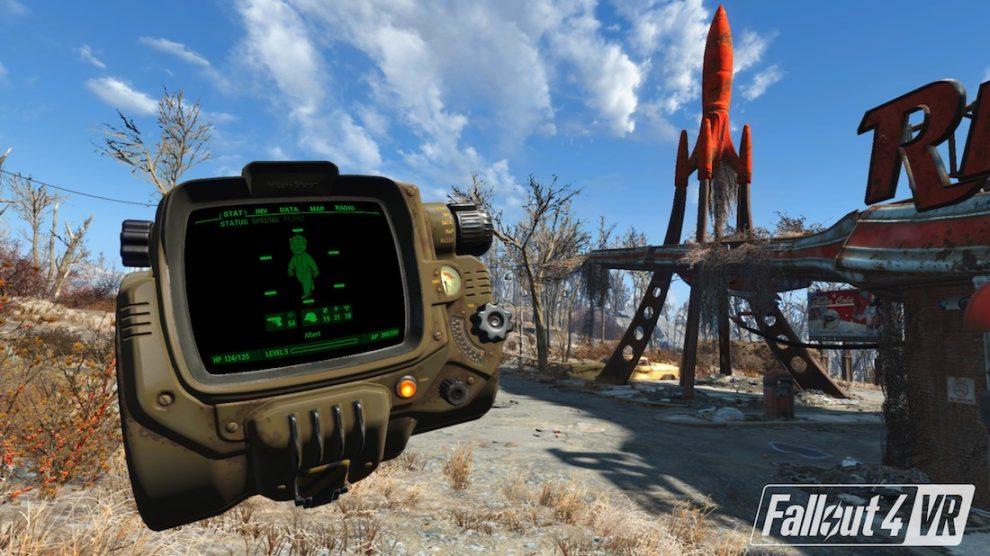 Fallout 4 VR para HTC Vive