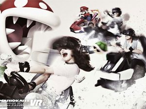Mario Kart VR - VR Zone Tokyo