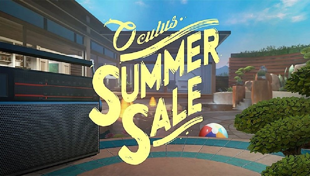 rebajas de verano Summer sale oculus vr