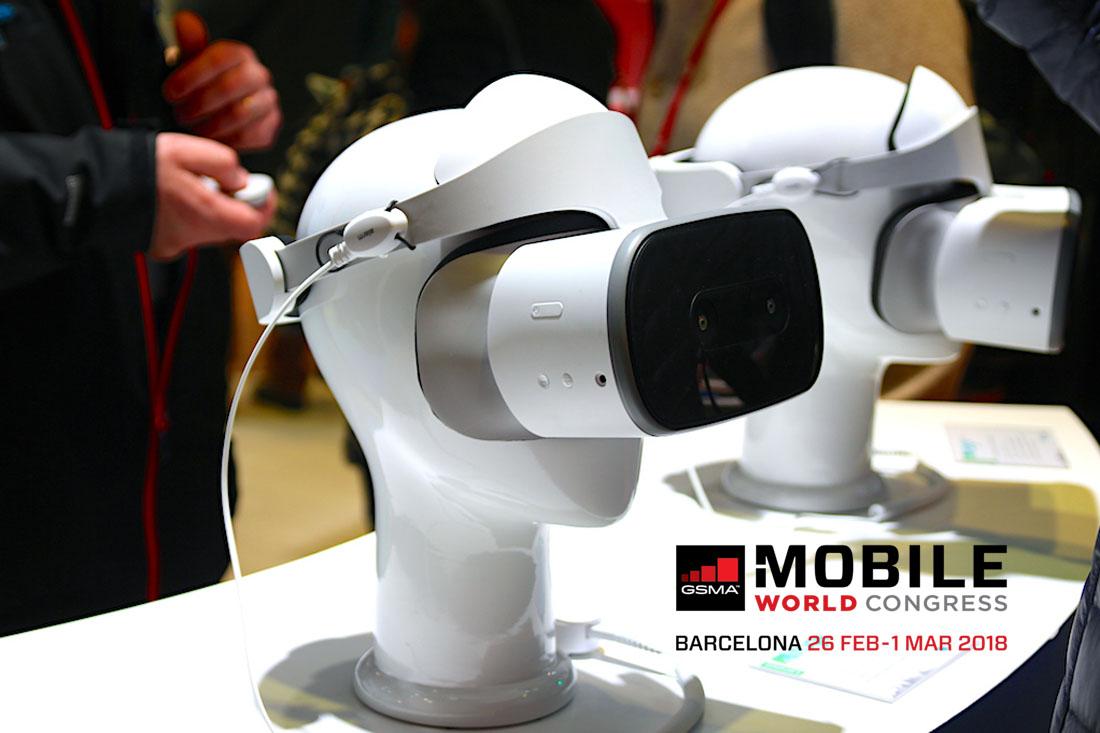 Realidad Virtual en el MWC 18